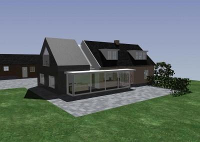 Uitbreiding woonhuis Valburg